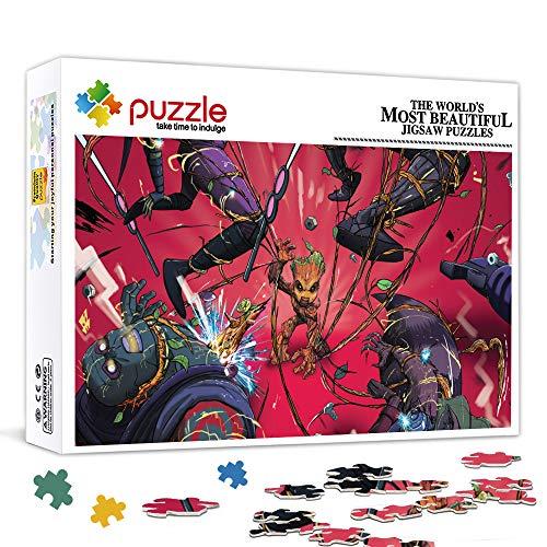 Guardianes de la galaxia Star Lord, cartel de la película Kamora Puzzle 300 piezas Juguetes interesantes Regalo personalizado Juego de rompecabezas familiar 38x26 cm