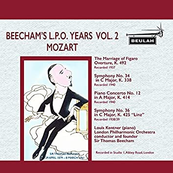 Beecham's L. P. O. Years, Vol. 2: Mozart