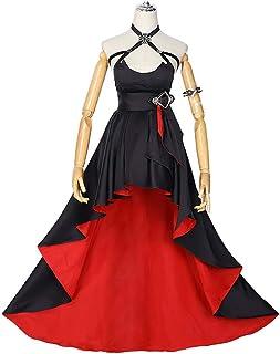 「ExFun」 アズールレーン ローン コスプレ アズレン 灰と紅の微笑み ドレス 衣装 仮装 レディース (服装, XL)