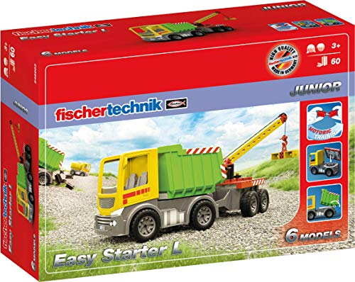 fischertechnik Easy Starter L - LKW Spielzeug für Kinder ab 3 Jahre - das Lieblingsthema Lastwagen für...
