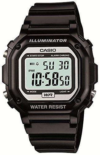 [カシオ] 腕時計 スタンダード F-108WHC-1AJF ブラック