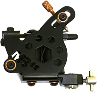 Micky Bee Professional Tattoo Machine Coil Black Honey Color Shader 10 Wrap Coils