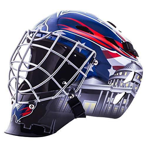Franklin Sports Washington Capitals NHL Hockey Torwart Gesichtsmaske – Torwartmaske für Kinder Street Hockey – Jugend NHL Team Street Hockey Masken