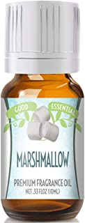 Marshmallow Scented Oil by Good Essential (Premium Grade Fragrance Oil) - Perfect for Aromatherapy, Soaps, Candles, Slime, Lotions, and More!