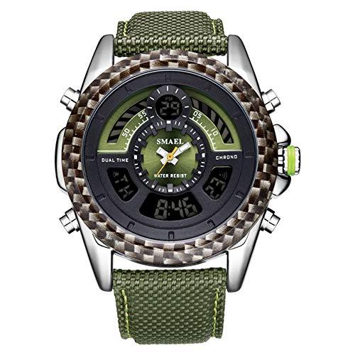 Blisfille Reloj de Luz Relojes Digitales Sumergibles Relojes Digitales y Sumergibles Reloj Mujer Dorado Reloj para Actividad Fisica