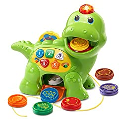 1. VTech Chomp and Count Dino