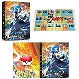 Álbum compatible con Cartas Pokemon GX EX MEGA, Aglutinante compatible con Cartas Pokemon, Carpeta de soporte de álbum de tarjetas coleccionables, Puede contener 432 tarjetas (Gallade)