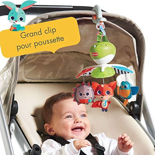 Tiny Love Mobile de voyage Musical 3 en 1 pour Bébé, 5 Mélodies, Compatible avec les Poussettes,...