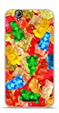 Onozo Coque TPU Gel Souple Acer Liquid Z630 Design Bonbons Nounours Multicolores