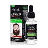 Beard Growth Oil, Duvina Hair Growth Oil Beard Oil Beard Care Products (30ml)