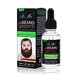 Aceite Para Barba,Duvina Cuidado de Barba, Cuidado de la Barba Nutrición Profunda de la Barba y La Piel, Aceite para el Crecimiento de la Barba y del Pelo, Aceite para Barba Cuidado para hombres