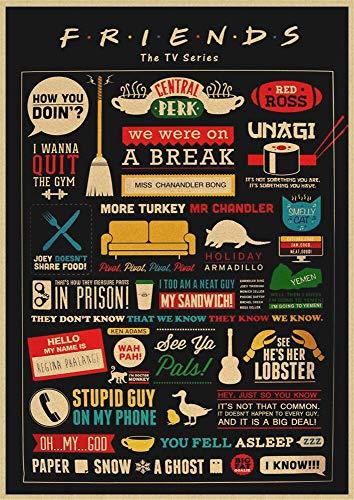 BLOUR Cartel Vintage cóctel Cerveza Vino Carta Retro Papel Kraft Pintura Bar Café Pub Sala de Estar decoración del hogar Pegatina de Pared