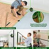 Immagine 2 popoman livella laser verde 3x360