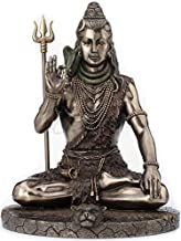 Veronese Design Lord Shiva in Meditation Pose Statue Sculpture - Hindu God and Destroyer of Evil