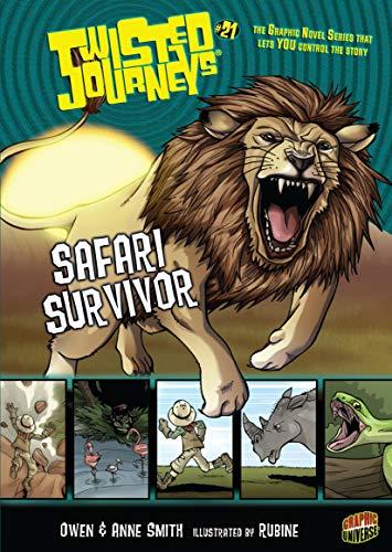 Safari Survivor: Book 21 (Twisted Journeys ®) (English Edition)