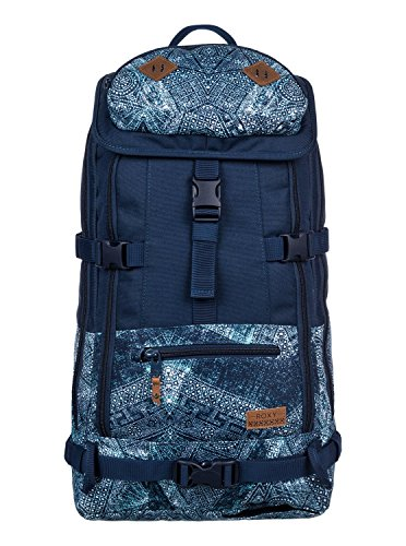Roxy Tribute Backpack Rucksack, 40 cm, 24 L, Peacoat