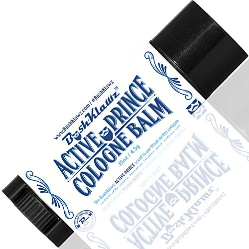 BushKlawz Solid Colognes Travel Variety Gift Set Sampler. Includes 1 chapstick size stick of each of our 4 famous scents. Best Gift Present for men men's