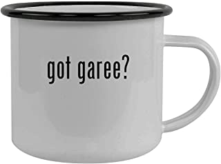 got garee? - Stainless Steel 12oz Camping Mug, Black