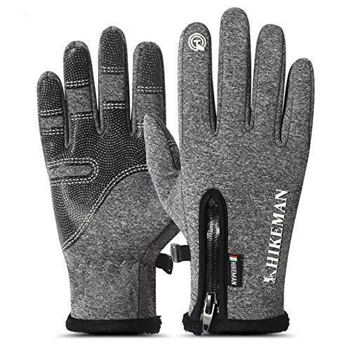 N-B Winter Gloves Waterproof Cycling Ski Gloves Men Women Winter Skiing Snowboard Gloves Touch Screen Snow Motorcycle Heated Gloves