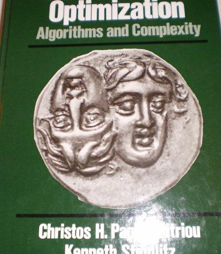 Combinatorial Optimization: Algorithms and Complexityの詳細を見る