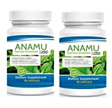Anamu 1250mg 100% Organically Grown 180 Capsules