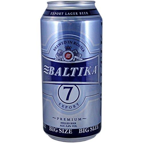 Baltika No.7 Export Eksportnoje 12 x 0,9l Dosen inkl. 3,00€ DPG Pfand EINWEG