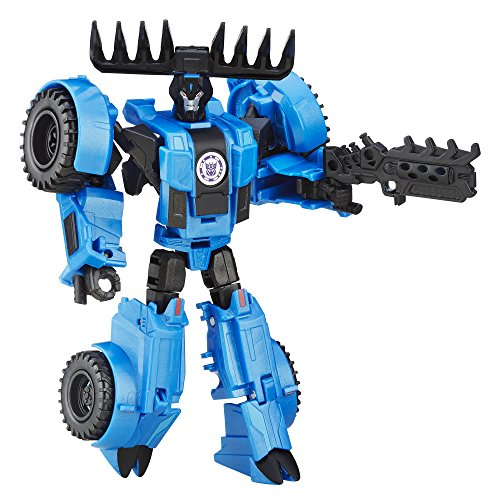 Transformers: Robots in Disguise Warrior Class Thunderhoof (Weaponizers Version)