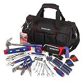 WORKPRO Juego de herramientas de reparación para el hogar de 156 piezas,...
