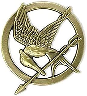NECA Prop Replica Mockingjay Pin-hunger, Pretend Play & Dress-up