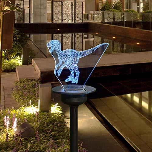 JXIHYD Led Outdoor Tuin Zonne-energie Dierlijke Licht Lantaarn Solar Straat Licht Decoratie Tuin Gazon Lamp