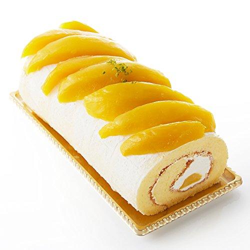 新宿高野 Fruity マンゴーロール 約600g×1個 ( アルフォンソマンゴー / タイマンゴー ) フルーツケーキ 洋菓子 スイーツギフト 母の日 ( #49108 )
