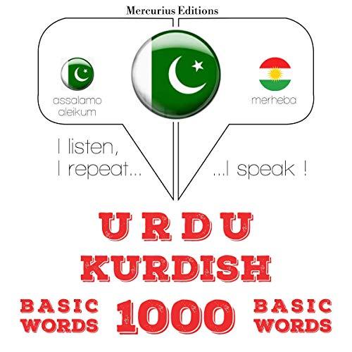 Urdu – Kurdish. 1000 basic words cover art