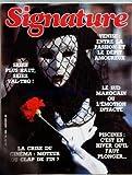 SIGNATURE [No 206] du 01/01/1988 - VENISE - ENTRE LA PASSION ET LE DEPIT AMOUREUX - LESUD MAROCAIN OU L'EMITION INTACTE - PISCINES - C'EST EN HIVER QU'IL FAUT PLONGER - SKIEZ PLUS HAUT - SKIEZ VAL-THO - LA CRISE DU CINEMA - MOTEUR OU CLAP DE FIN - LES ETIQUETTES DE VIN - RICHARD LEBEAU