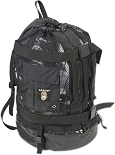 Armor #173 Gear Wrap Mesh Backpack with Easy Zipper Entry for Scuba Diving and Snorkeling Gear - Easily Pack and Unload Your Gear