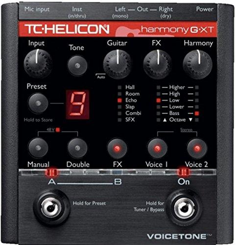TC HELICON VOICETONE harmony-g XT Vocal und Effekte für Gitarren