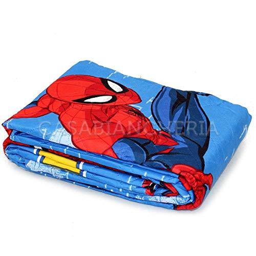 G & C Enterprise Copriletto Trapuntato Spiderman Spidey-Singolo