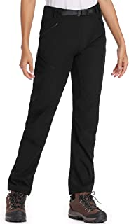 Jessie Kidden Women's Cargo Hiking Stretch Pants, UPF 50+ Quick Dry Hiking Camping Cool Lightweight Trousers