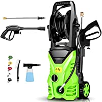 Homdox 1800W 2950 PSI Electric Pressure Washer with 5 Nozzles