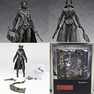 Hai You Game Bloodborne Hunter Figma 367 PVC Action Figure Model Collection Toy Doll Gifts