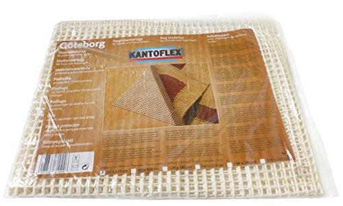 KANTOFLEX Teppichunterlage Göteborg Teppichgleitschutz Gitter (60 x 120 cm)