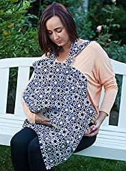 Breastfeeding cover push present idea for new moms and newborn baby