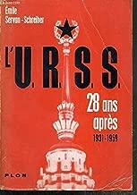 L'u. r. s. s. 28 ans après 1931-1959