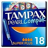 Tampax Pearl Compak Super Plus Applicateur x18, La Meilleure Combinaison De Confort, Protection Et...