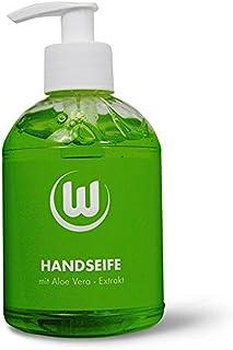 VfL Wolfsburg - Seife / Handseife / Flüssigseife im Seifenspender 300 ml mit Aloe Vera