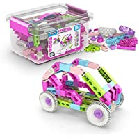 Engino Toys Creative Engineering STEM Maker Girl 20-Model Set