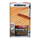 Ronseal Ultimate Protection Decking Oil Teak 5L