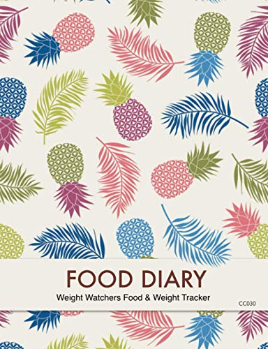 Food Diary - Weight Watchers Food & Weight Tracker: 3 Months Food Tracking,...