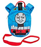 Boys Thomas The Tank Engine Reins Bag Backpack with Detatchable Safety Harness Strap for Parental Control Toddler Nursery Bag
