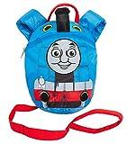 [page_title]-Jungen-Rucksack, Motiv: Thomas, die kleine Lokomotive, mit abnehmbarem Sicherheitsgurt, für Kindergartentasche, blau (Blau) - MNCK13033