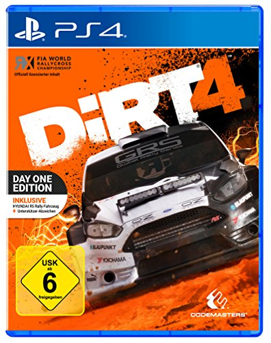 DiRT 4 - Day One Edition mit Steelbook (exkl. bei Amazon.de) - [PlayStation 4]